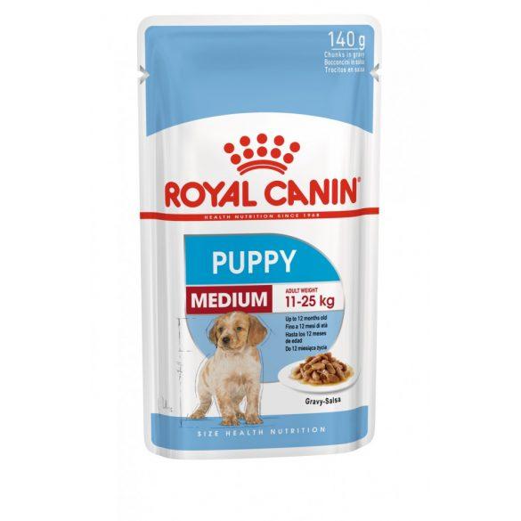 ROYAL CANIN SHN WET MEDIUM PUPPY 10x140g Alutasakos kutyaeledel