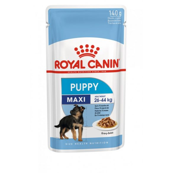 ROYAL CANIN SHN WET MAXI PUPPY 10x140g Alutasakos kutyaeledel