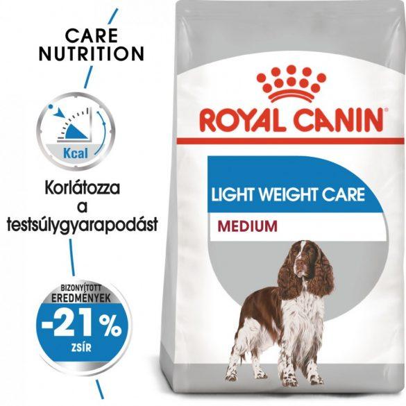 ROYAL CANIN MEDIUM LIGHT WEIGHT CARE 3kg Száraz kutyatáp