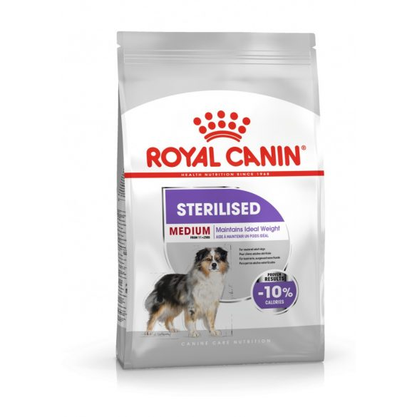 ROYAL CANIN MEDIUM STERILISED 3kg Száraz kutyatáp