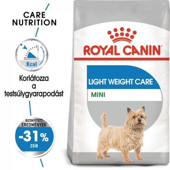 ROYAL CANIN MINI LIGHT WEIGHT CARE 1kg Száraz kutyatáp