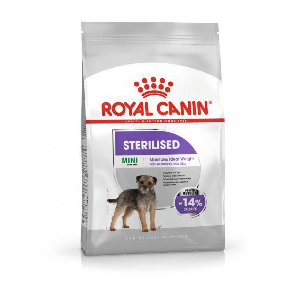 ROYAL CANIN MINI STERILISED 3kg Száraz kutyatáp