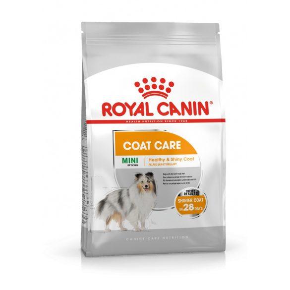 ROYAL CANIN MINI COAT CARE 1kg Száraz kutyatáp