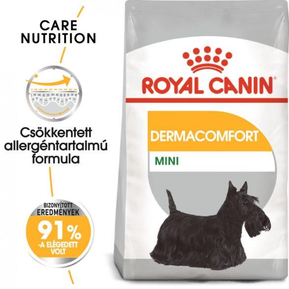 ROYAL CANIN MINI DERMACOMFORT 8kg Száraz kutyatáp