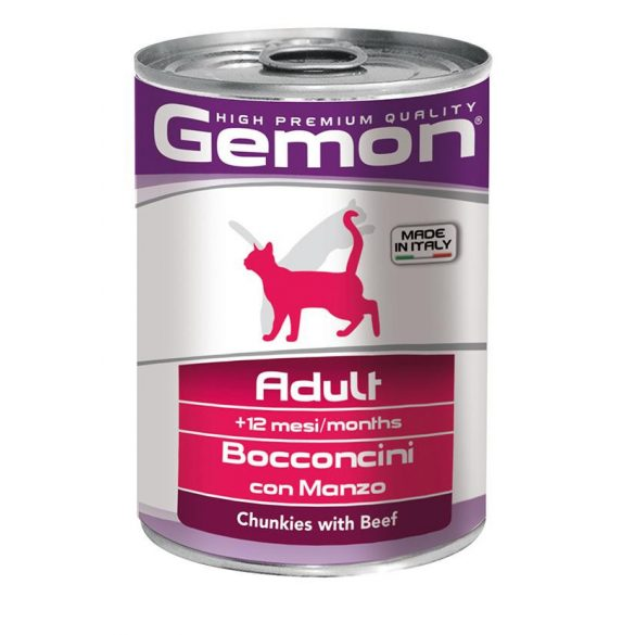 Gemon Cat Csirke Macska konzerv 400g