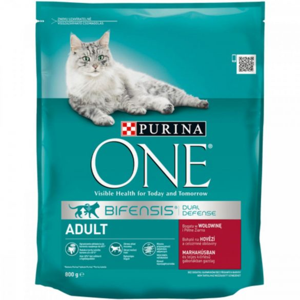 Purina One Dual Nature Adult Marha macskaeledel 750g