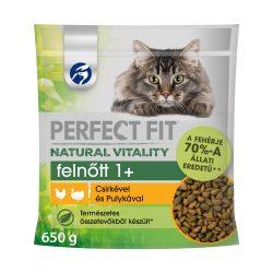 Perfect Fit Vital Nature Cat 650g Adult Csirke-Pulyka