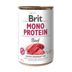 Brit Mono Protein Marha és Barna rizs 400g Kutyakonzerv