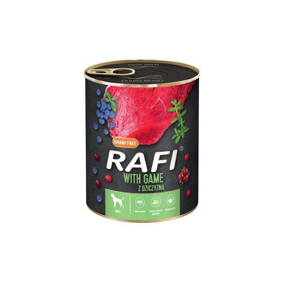 Rafi 800g Adult Pate Vad Kék és Vörösáfonyával Kutyakonzerv