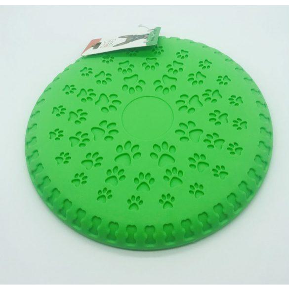 Frizbi 23 cm - zöld, 3D tappancs minta