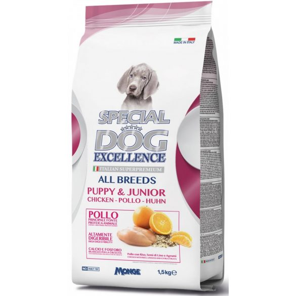 Special Dog Excellence Puppy&Junior 1,5 kg