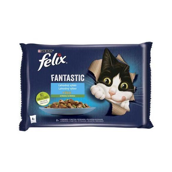 Félix 4x85g Fantastic Hal + Zöldség  Alutasak 973