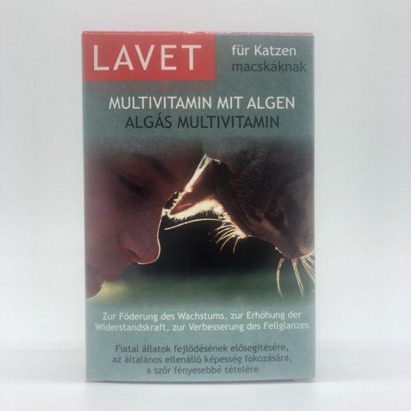 LAVET Algás Multivitamin tabl.macskának 50db