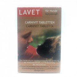 LAVET Carnivit tabl.kutyának 50db