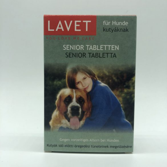 LAVET Senior tabl.kutyának 50db