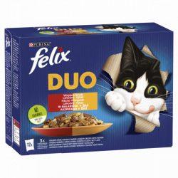 Félix 12x85g Fantastic Duo Házias Válogatás Aszpikban