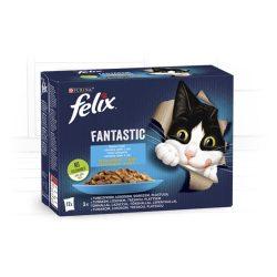 Félix 12x85g Fantastic Halas Válogatás  Aszpikban