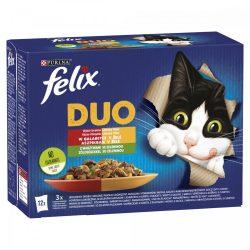 Félix 12x85g Fantastic Duo Házias Válogatás Zöldséggel Aszpikban