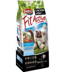 FitActive Cat 1,5kg Sensitive Csirke+Hal