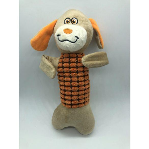 Plüss kutyajáték - kutya - 30cm - sípolós