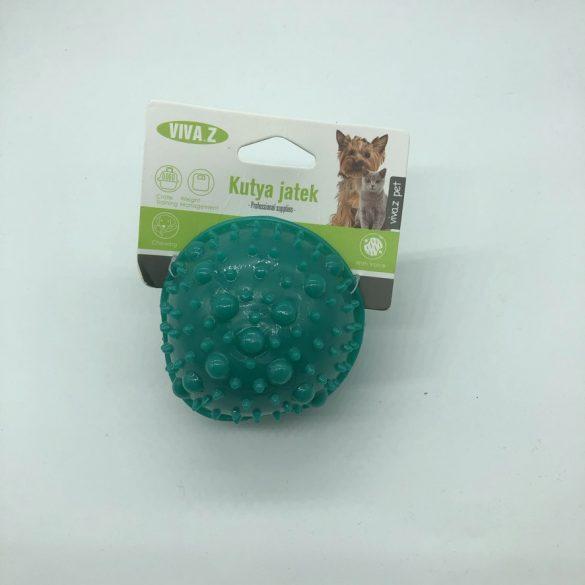 Felezett labda - fogzást segítő kutyajáték - sötét zöld