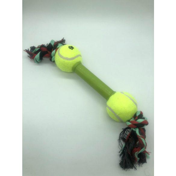 Teniszlabdás kutyajáték 30cm