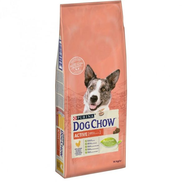 Dog Chow 14kg Active Csirke