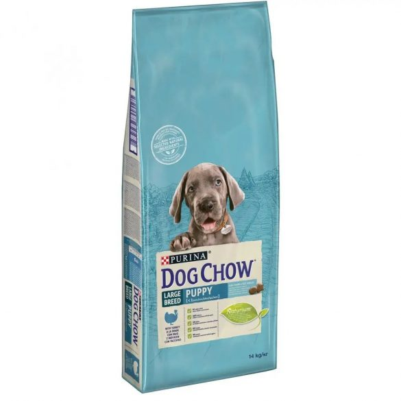 Dog Chow 14kg Puppy Large Breed Pulyka