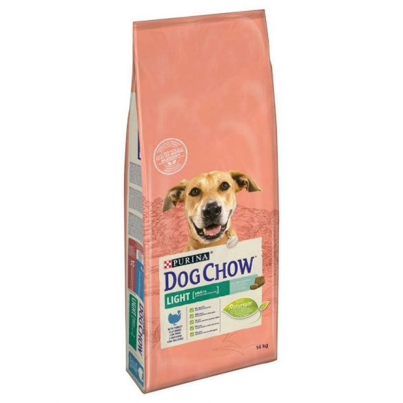 Dog Chow 14kg Light Pulyka