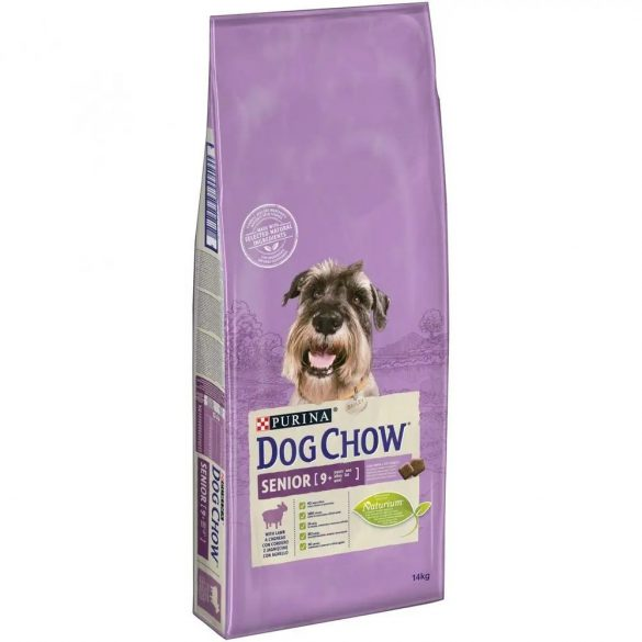 DOG CHOW 14KG SENIOR 9+ BÁRÁNY