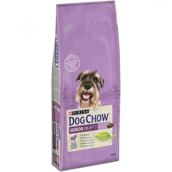 Dog Chow 14kg Senior 9+ Bárány