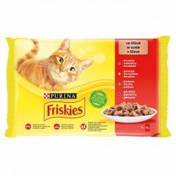 FRISKIES Multipack 4x85g - Csirke/Marhahús/Bárány/Kacsa