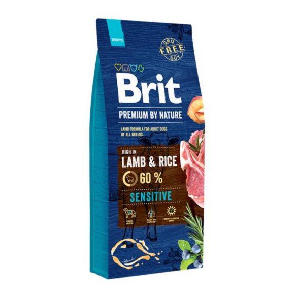 Brit Premium Sensitive Lamb & Rice 15kg