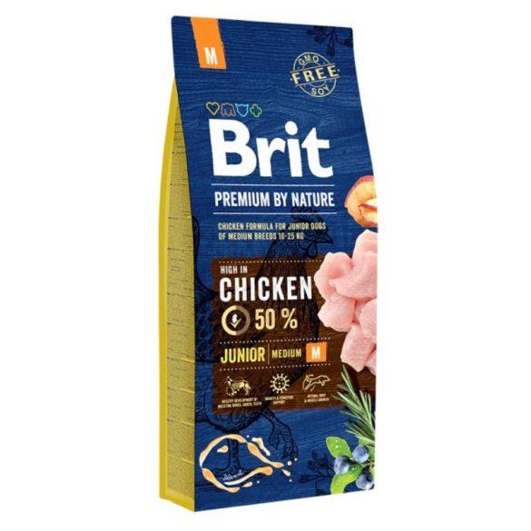 Brit Premium Medium Junior 15kg