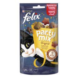 Félix Party Mix 60g Original Csirke + Máj + Pulyka