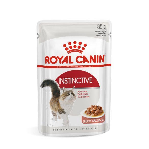 ROYAL CANIN INSTINCTIVE GRAVY 12x85g Alutasakos macskaeledel