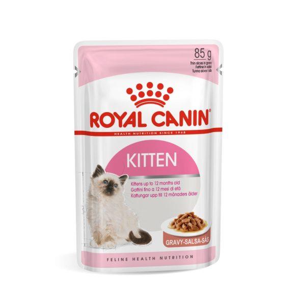ROYAL CANIN KITTEN GRAVY 12x85g Alutasakos macskaeledel