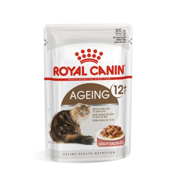 ROYAL CANIN AGEING GRAVY +12 12x85g Alutasakos macskaeledel
