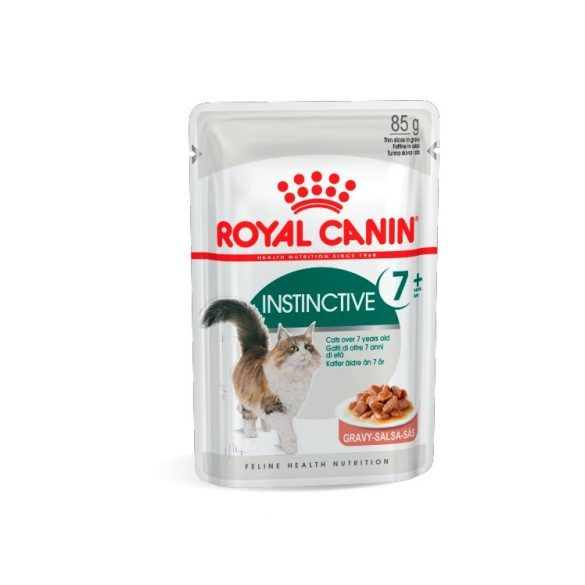 ROYAL CANIN INSTINCTIVE GRAVY +7 12x85g Alutasakos macskaeledel