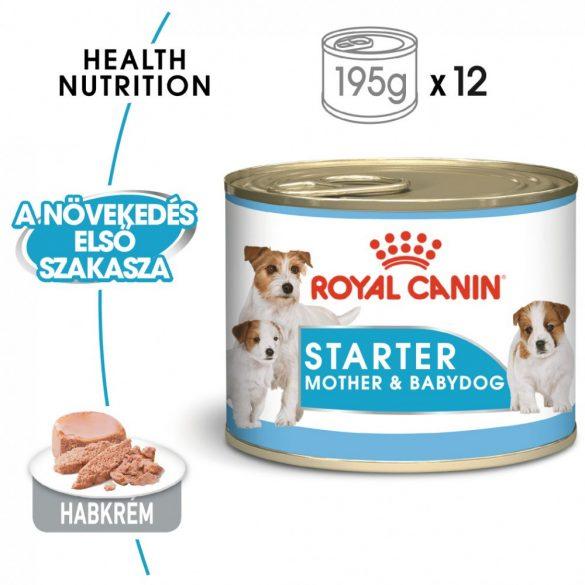 ROYAL CANIN SHN SHN WET STARTER MOUSSE (12*195g) (2,34kg)