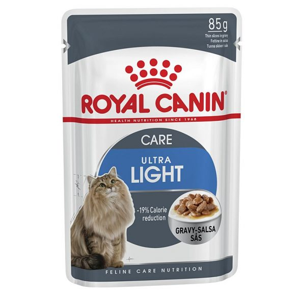 ROYAL CANIN LIGHT WEIGHT CARE 12x85g Alutasakos macskaeledel