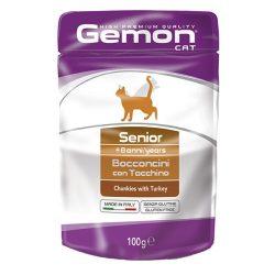 Gemon Cat 100g Alutasak Senior Pulykával