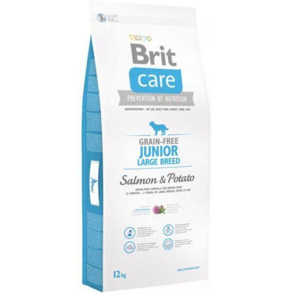 Brit Care Grain-free Junior Large (Salmon & Potato) 12kg