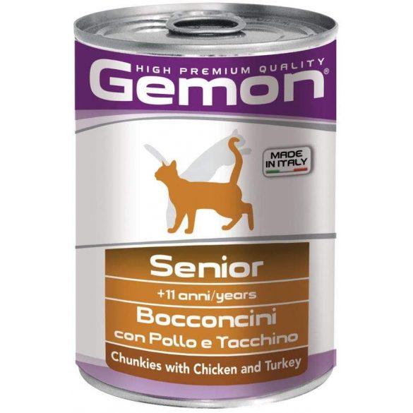 Gemon Cat 400g Senior Csirke + Pulyka